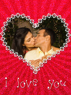 Романтическая открытка любимому