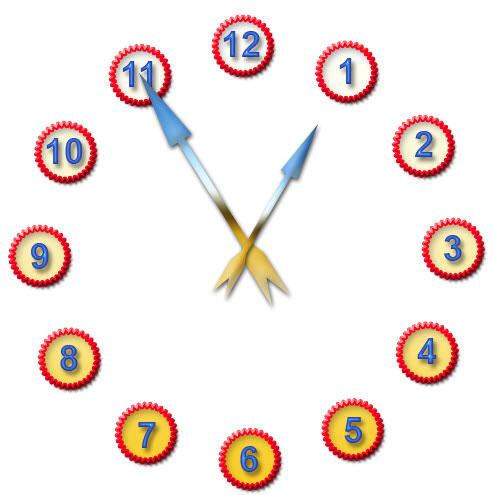 Почти готовые часы