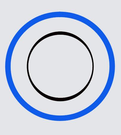 Как сделать вшопе круглое с обводкой