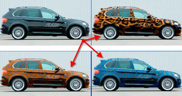 как изменить текстуру в фотошопе: