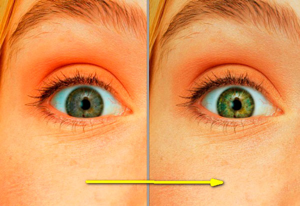 Как в фотошопе сделать выразительными глаза