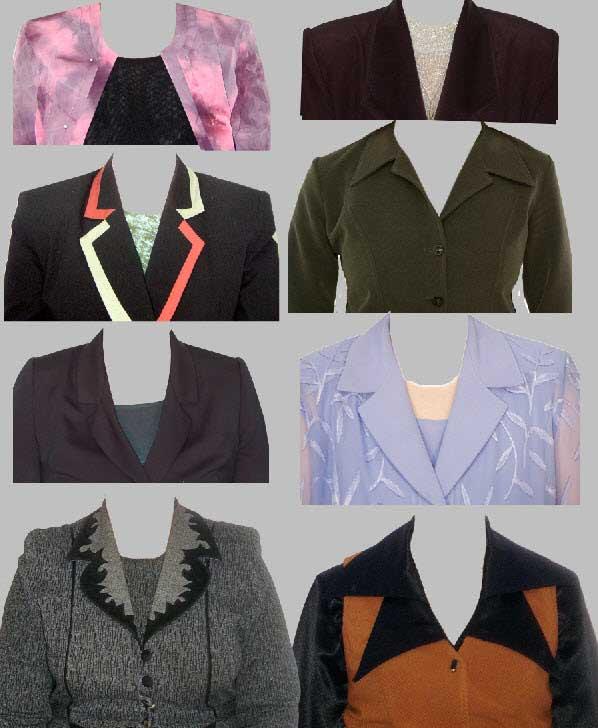 женская одежда клипарт:
