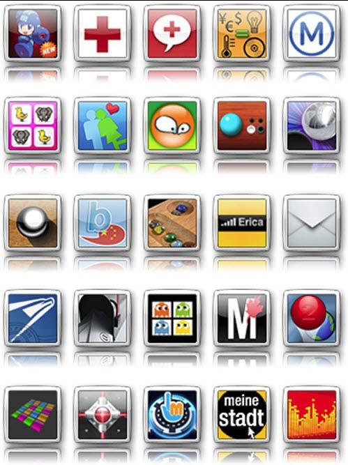 Набор Иконок Телефона