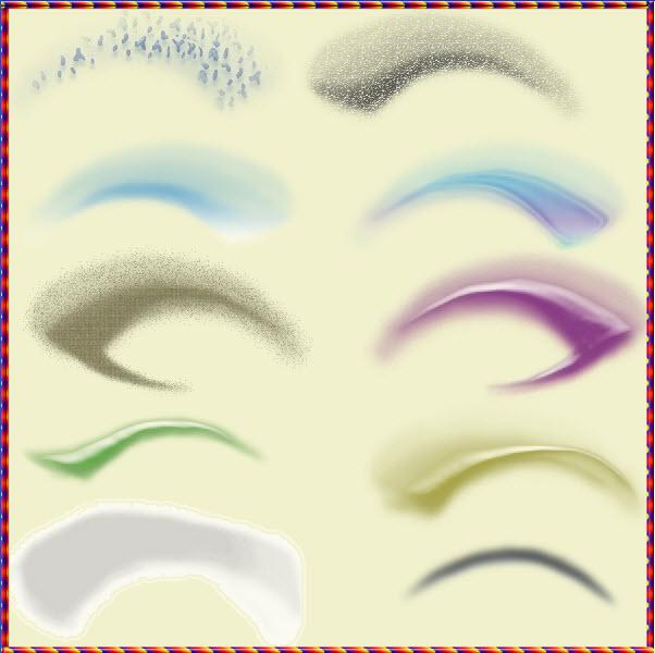 скачать кисти для фотошопа макияж: