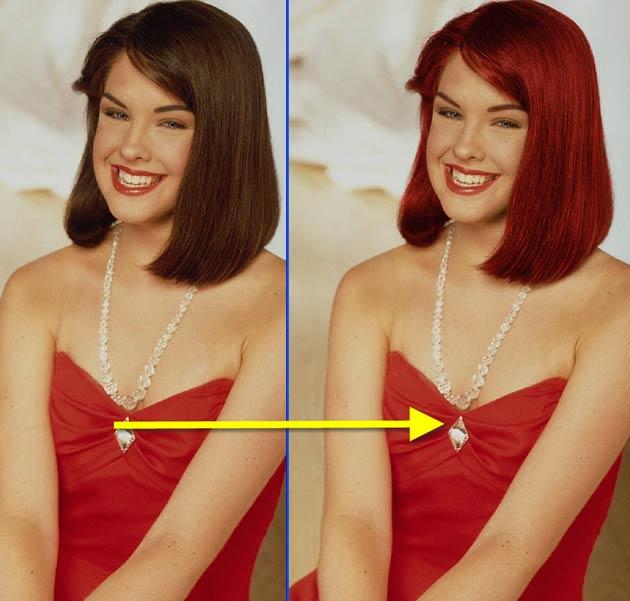 программа для изменения цвета волос на фотографии - фото 2