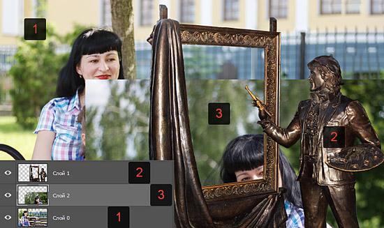 Вставить фото в рамку советской армии поздравляю