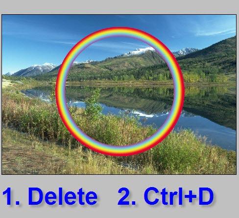 Как сделать круглое фото в фотошопе фото 358