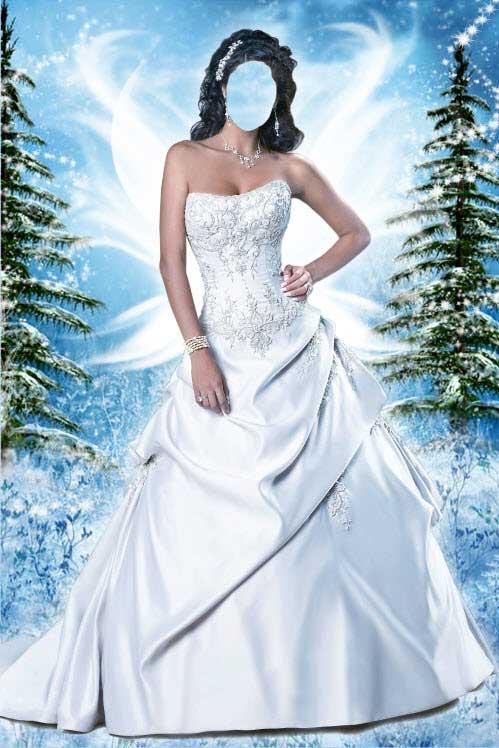 Шаблоны для фотошоп свадебные платья