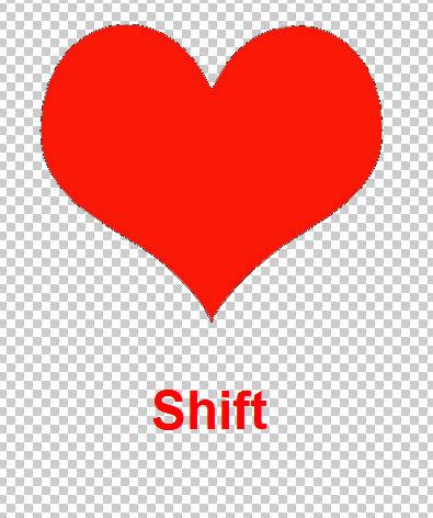 Как сделать сердце в фотошопе 104