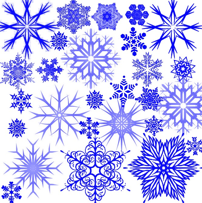 Снежинки рисовать картинки