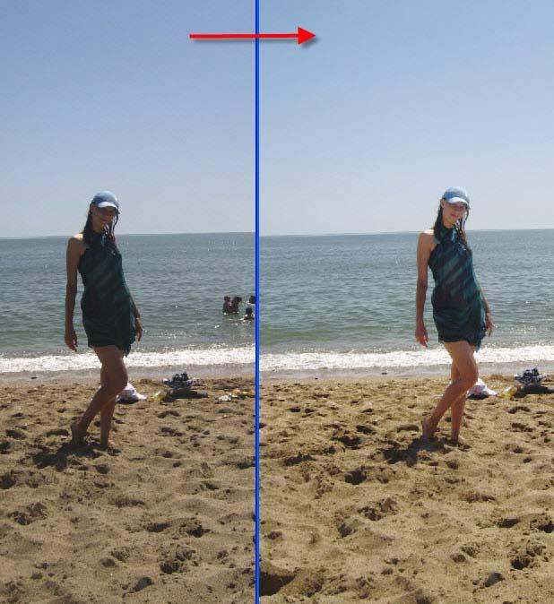 фото против света как исправить в фотошопе