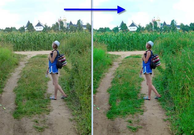 как сделать фотографию сочной и яркой в фотошопе